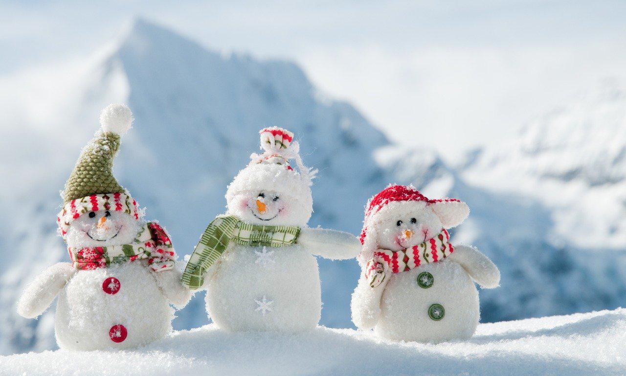 Зима це радість лижі сміх